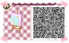 Animal Crossing: New Leaf & HHD QR Code Paths #7 Star crossed Pastel waterway