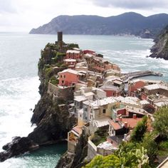 Travels to the Cinque Terre region, Italy