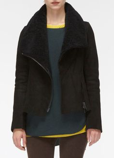 Scuba Shearling Jacket (vince)