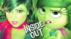 Inside Out - Disgust MAKEUP!