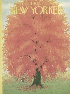 The New Yorker - Saturday, October 18, 1952 - Issue # 1444 - Vol. 28 - N° 35 - Cover by : Edna Eicke