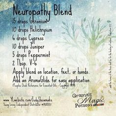 Young Living Essential Oils: Neuropathy Pain