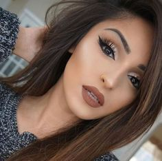 Add a brown lip to complete any dreamy makeup looks!