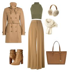 """""""Untitled #273"""" by kathleen-smyth on Polyvore featuring WearAll, STELLA McCARTNEY, UGG Australia, Lacoste, Cynthia Vincent, Burberry and Michael Kors"""