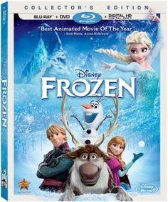 Disney's Frozen DVD & On-Demand Release Dates