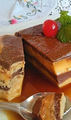 Tartaflan de chocolate y galletas - El dulce paladar Jello Recipes, Mexican Food Recipes, Sweet Recipes, Dessert Recipes, Flan Cake, Cheesecake Cake, Cheesecake Recipes, Cold Desserts, Delicious Desserts