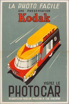 Marque : Kodak - Publicité Vintage - Made in France - Monsieur Martin