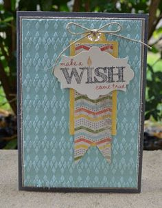 Make a Wish, This N That, Stampin Up
