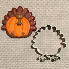 Turkey Pumpkin Cookie Cutter