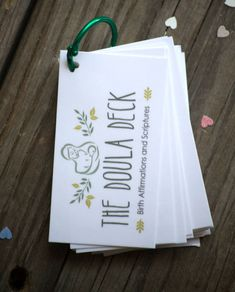 The ORIGINAL DOULA DECK is NOW DOWNLOADABLE! This collection is filled with 40…