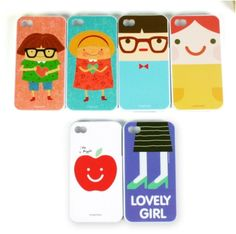 Lovely iPhone 4 Case... the third one reminds me of my brother hehehe :)