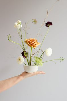 Centerpieces Inspiration from Stems Floral Design + Event Styling in Austin, Texas Wedding Flower Arrangements, Floral Centerpieces, Floral Arrangements, Ikebana, Floral Wedding, Wedding Flowers, Wedding Decor, Flower Frog, Flower Aesthetic
