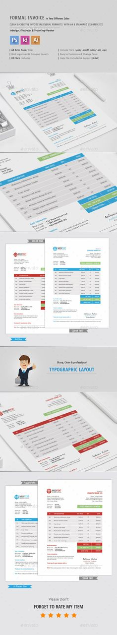 Invoice, CV \ Letter Templates II More Letter templates, Cv - design your own invoice