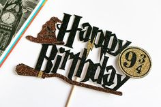 Toy Story Cake Toppers, Star Wars Cake Toppers, Harry Potter Birthday Cards, Harry Potter Cards, 19th Birthday Cakes, Happy Birthday Cake Topper, Minnie Mouse Cake Topper, Frozen Cake Topper, Diy Unicorn Cake