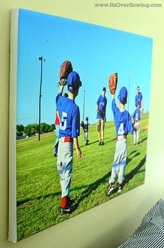 Boys Bedroom Canvas Prints Cute done with soccer picture for Kyle
