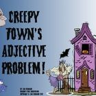 Learning about adjectives can be fun, and a little creepy too, with this Halloween unit about adjectives! Start with a four page story about Creepy...