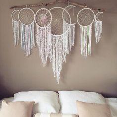 filtro de sonhos na decoração #handmadehomedecor