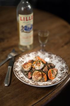 Scallops foie gras lentils recipe from my French heaven