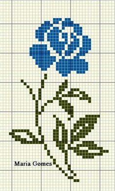 Cross Stitch Beginner, Small Cross Stitch, Cross Stitch Cards, Cross Stitch Borders, Cross Stitch Rose, Cross Stitch Flowers, Modern Cross Stitch, Cross Stitch Designs, Cross Stitching