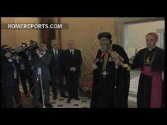 Papa copto propone a Francisco que cada 10 de mayo sea una fiesta para coptos y católicos