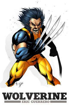 Wolverine by *e-guerrero on deviantART Wolverine, Deviantart, Superhero, Artist, Movie Posters, Paintings, Film Poster, Artists, Film Posters