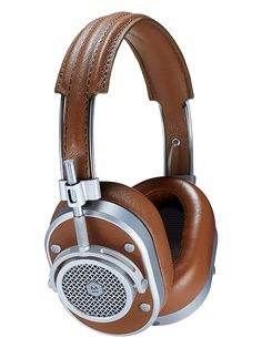 If you can fall in love with headphones...these are them. MH40 Over Ear Headphones | Master and Dynamic