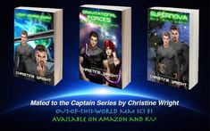 I looooove All my readers so yes my books are in KU My MM romance Sci-Fi books!  Mated to the Captain Book 1: Light Years Away  Unemployment is stressful enoughbut throw in the threat of being tossed out the space stations airlock as a vagrant and human Del is in desperate need of employment. No job no place to stay Del wants nothing more than to be back out amongst the stars preferably as a bridge crewmember. Trouble is his dreams are bigger than his starship experience and years and Del…