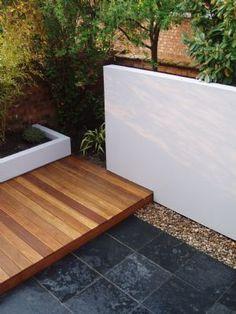 Garden idea.  Great clean concept.