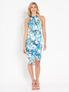 Image for Romantic Halter Soft Dress from Portmans