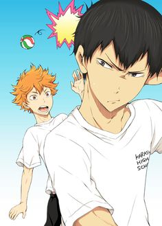 Baha. Dang it, Hinata. Kageyama's gonna be pissed again.