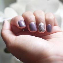 Accent nail colours