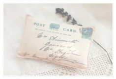 sachet with lindenflowers, wild rose, propolis, lavender and camomile  12,5x7,5 cm