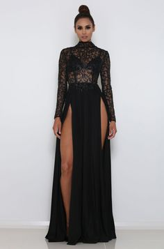 ABYSS BY ABBY AMREZY GOWN