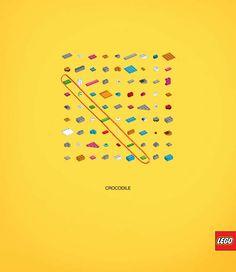 Publicidad Creativa - LEGO: Words Puzzle