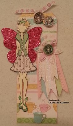 August 2013 Crop for SCRAP-A-TEERS FREE MNT DOLL TAG.