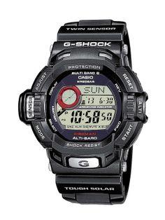 Casio G-Shock GW-9200-1ER- Orologio da Uomo, Colore: Nero