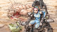 Fallout stream art by DarrenGeers