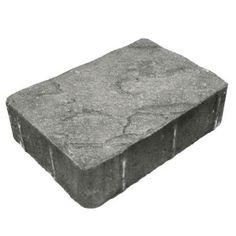 Dominion 825 in x 11 in Concrete Slate Cascade Blend Paver