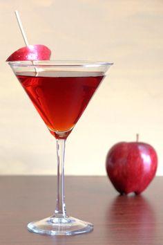 Jack Rose Cocktail Recipe with applejack brandy, lemon or lime, grenadine. http://mixthatdrink.com/jack-rose/