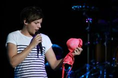 """not exactly my shade of fuchsia..."" -Louis"