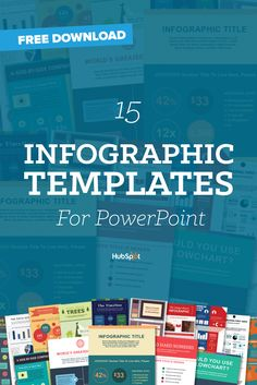 15 FREE INFOGRAPHIC TEMPLATES IN POWERPOINT (+ 5 BONUS ILLUSTRATOR TEMPLATES) Save countless hours by using these pre-made templates to design your infographics