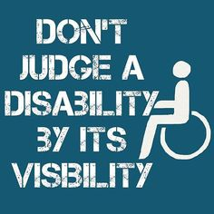 Please don't judge by appearances.