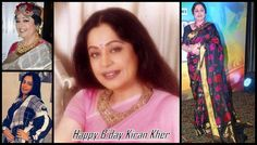 Kiran Kher is celebrating her b'day today.  Wishing her a very HAPPY BIRTHDAY.