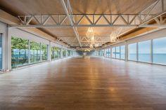 Fitness Inspired Design   Wood Look Flooring   Yoga Studio