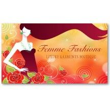 Fashion Boutique Business Card #EasyNip