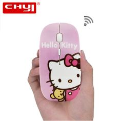 95c7ac6fd7a US $7.24 |Wireless Mouse Ultra Thin Optical Hello Kitty Gaming Mouse  Wireless Gamer 1600 DPI PC Computer Mice Hot Sale For Girls Children-in Mice  from ...