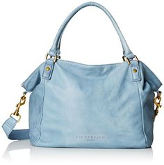 Women's Shoulder Bags - Liebeskind Berlin Amanda Top Handle Bag Light Blue One Size ** Learn more by visiting the image link.