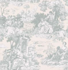 Listings (out of Total Wallcovering had a large selection of toile and oriental wallpaper designs that are perfect complements to a classic or Asian themed room. Oriental Wallpaper, French Wallpaper, Toile Wallpaper, Classic Wallpaper, Vinyl Wallpaper, Wallpaper Companies, Wallpaper Samples, Mountain Wallpaper, Victorian Decor