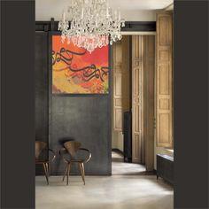"""""""Vermelho"""" an artwork by Khalid Shahin"""