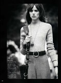 Freja Beha Erichsen by Terry Richardson for Vogue Nippon August 2010 by glenda